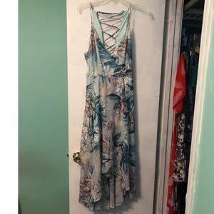 Long strap dress